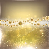 Gold abstract background. Stock Photo