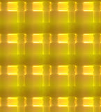 Gold abstract background with glowing light effect. Royalty Free Stock Image