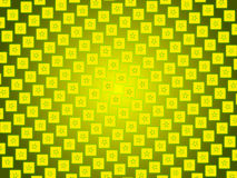 Gold abstract background, particles stars and squares Stock Photos
