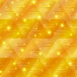 Gold abstract background seamless Royalty Free Stock Image