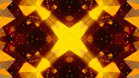 Gold abstract background textures, kaleidoscope Royalty Free Stock Photo