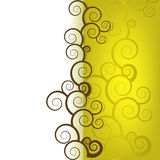 Gold abstract background. Vector Illustration Stock Photos