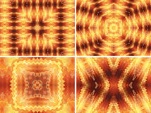 Gold abstract backgrounds Royalty Free Stock Images
