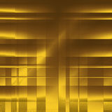 Gold abstract blocks as background Royalty Free Stock Photos