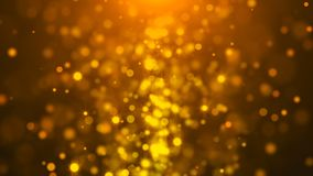 Gold abstract bokeh background. 3d rendering digital backdrop. Gold abstract bokeh background. 3d rendering digital backdrop Royalty Free Stock Image