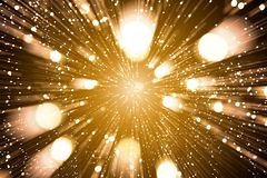 Gold abstract bokeh background royalty free stock photos