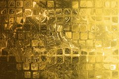 Gold Abstract Corporate Data Internet Grid Stock Image