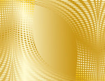 Gold abstract design Stock Photos