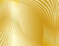 Gold abstract design Stock Photos