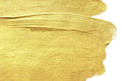 Gold Abstract hand painted golden stain background. Watercolor M royalty free stock photography