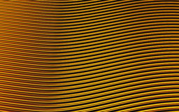 Gold abstract image of lines background. 3d render. Ing royalty free illustration