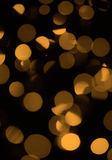 Gold abstract lights Royalty Free Stock Photos