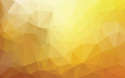 Gold Abstract Low Poly Vector Background royalty free illustration