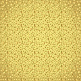 Gold Abstract Polygon Pattern on Colorful Background Stock Images