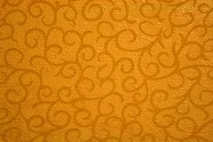 Gold abstract with scrolls. Gold background abstract with scroll design Stock Photos