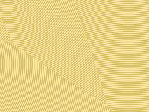 Gold abstract striped background - embossed surface. 3D effect. Vector illustration Stock Illustration