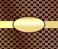 Gold  abstraction. Royalty Free Stock Photos