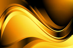 Gold abstraction Stock Photography