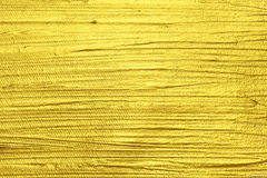 Gold acrylic textured painting Royalty Free Stock Photo