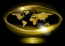 Gold age Stock Photo