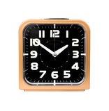 Gold alarm clock Royalty Free Stock Photography