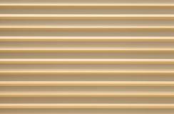 Gold aluminium metal plate texture Royalty Free Stock Images
