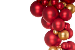 Gold And Red Festive Decoration Stock Photo