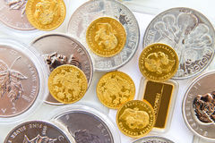 Free Gold And Silver Stock Image - 46318281