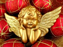 Gold Angel Royalty Free Stock Photos