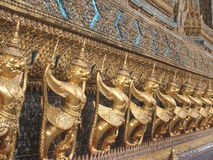 Gold Animal God Thailand Stock Photo