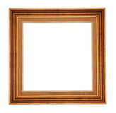 Gold antique frame Stock Images