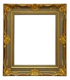 Gold antique frame Stock Photos