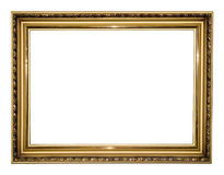 Gold antique frame Stock Image