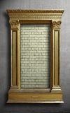 Surreal Gold Antique Picture Frame Royalty Free Stock Photo