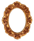 Gold Antique Ornate Picture Frame Royalty Free Stock Photo