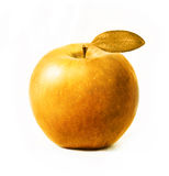 Gold apple Stock Photo