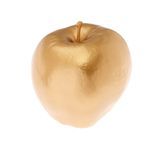 Gold Apple. An Apple Gilded with Gold Royalty Free Stock Photography