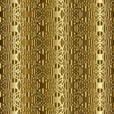 Gold arabian traditional pattern. Seamless. Abstract seamless pattern with Arabian ornament elements. Gold pattern is on the gradient gold background. Muslim royalty free illustration
