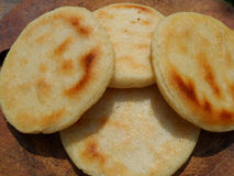 Gold arepas