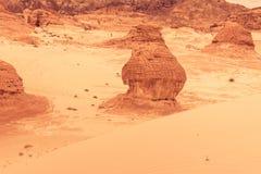 Gold arid desert landscape Sinai, Egypt. Gold arid desert landscape on Sinai, Egypt Stock Photo