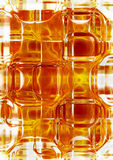 Gold art glass Royalty Free Stock Photos