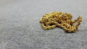 Gold auf Baumwollraum für Text Lizenzfreies Stockbild
