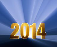 Mutiges 2014 vektor abbildung