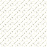 Gold auf weißes Schatten-Kreis-Muster-nahtlosem Wiederholungs-Hintergrund lizenzfreie abbildung