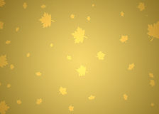Gold autumn background Royalty Free Stock Photography