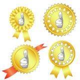 Gold award Stock Images