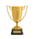 Gold award cup Royalty Free Stock Image
