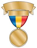 Gold Award Medal Royalty Free Stock Photos