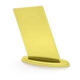 Gold award. Render on white background Stock Photos