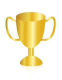 Gold award trophy Royalty Free Stock Image